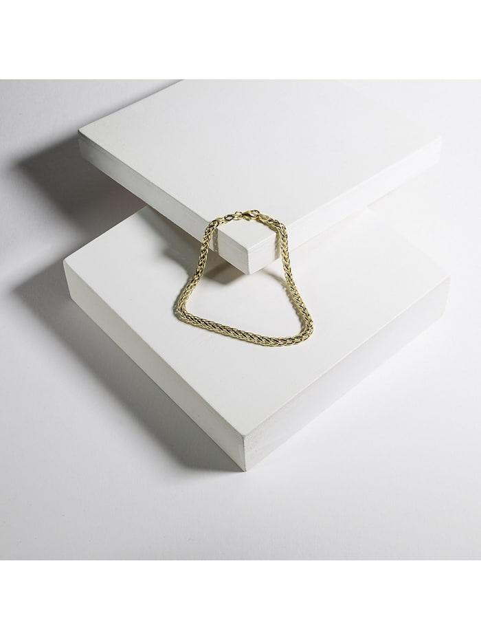 CHRIST Damen-Armband 375er Gelbgold