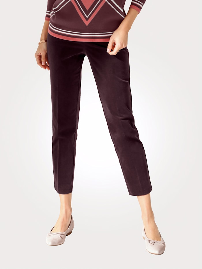 MONA Corduroy trousers, Bordeaux