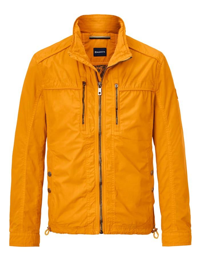 Jacke aus besonders luftdurchlässiger Baumwolle