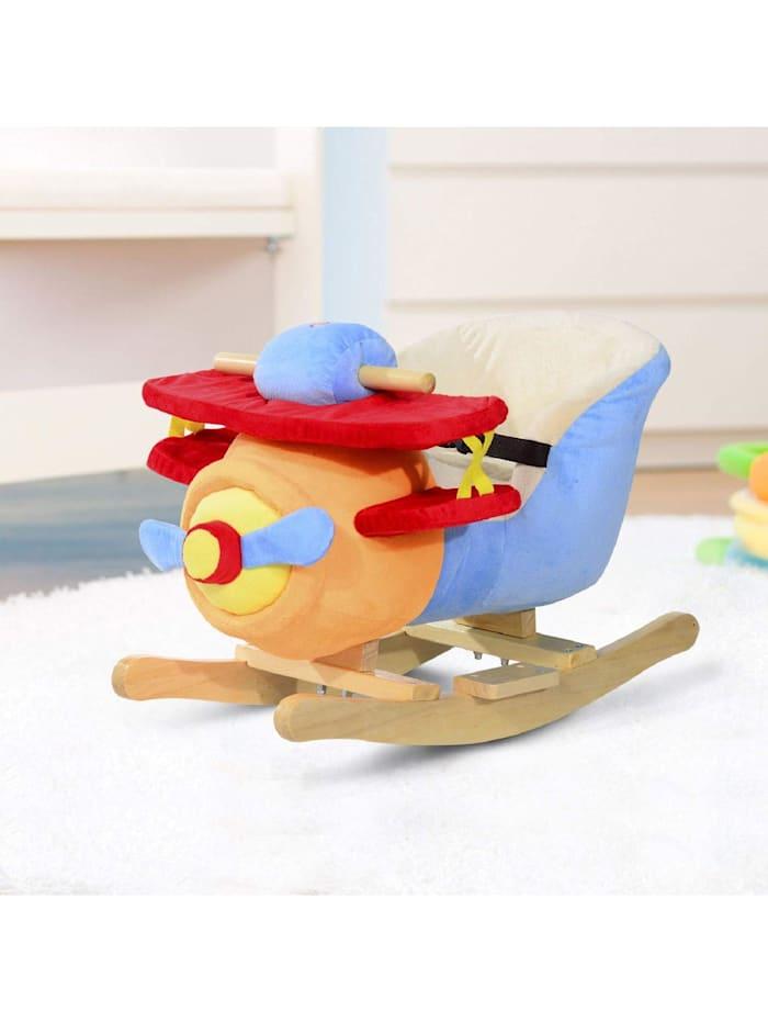 Schaukelspielzeug als Flugzeug