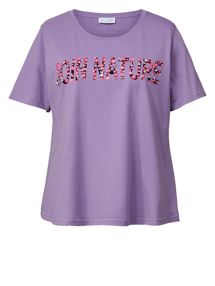Shirt mit Strass