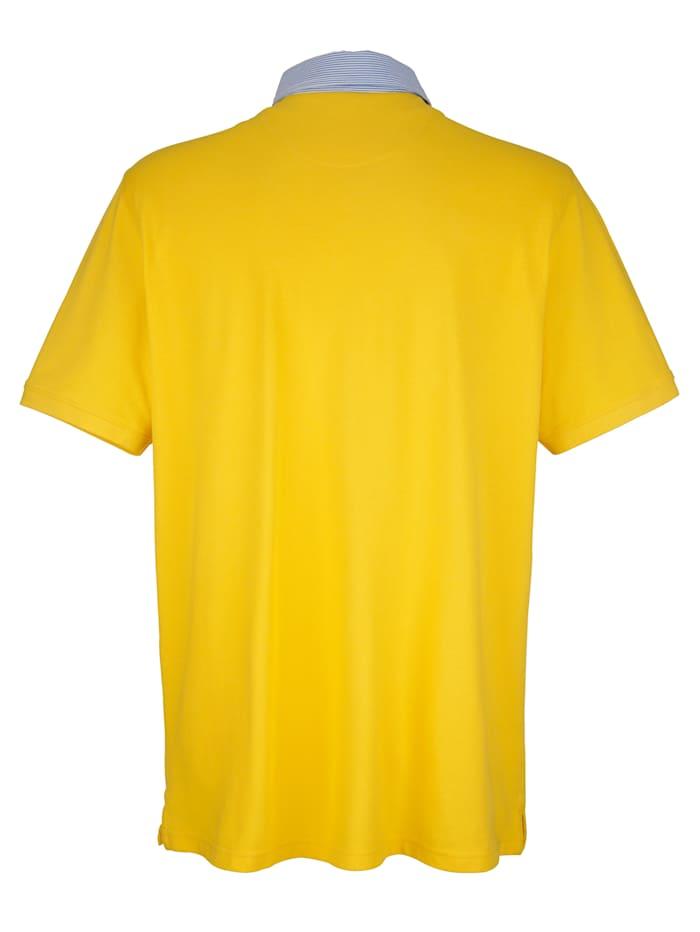 Poloshirt met contrasterende kraag