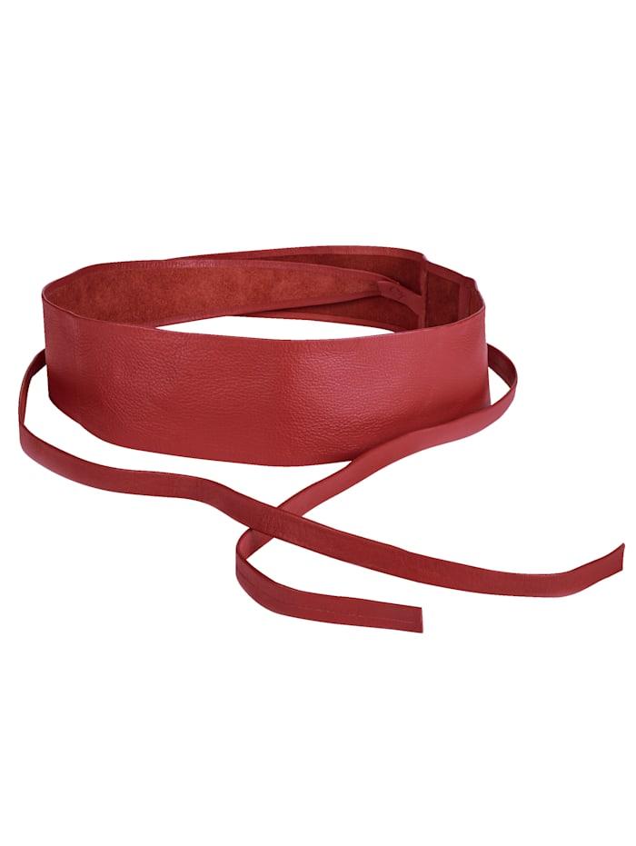 SIENNA Bindegürtel, rot