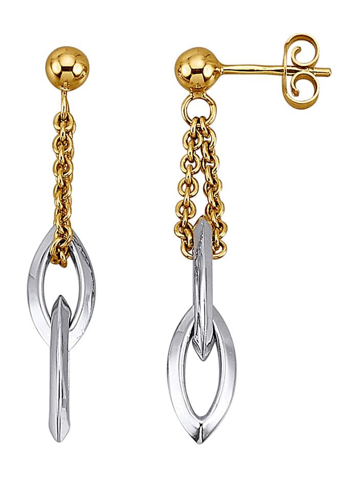 Diemer Gold Ohrringe, Gelb