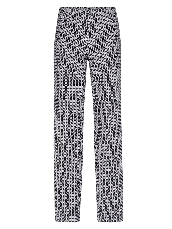 Trouser made of jacquard