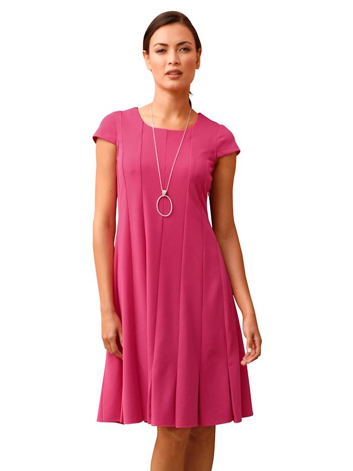 AMY VERMONT Kleid mit Falten am Saum, Pink