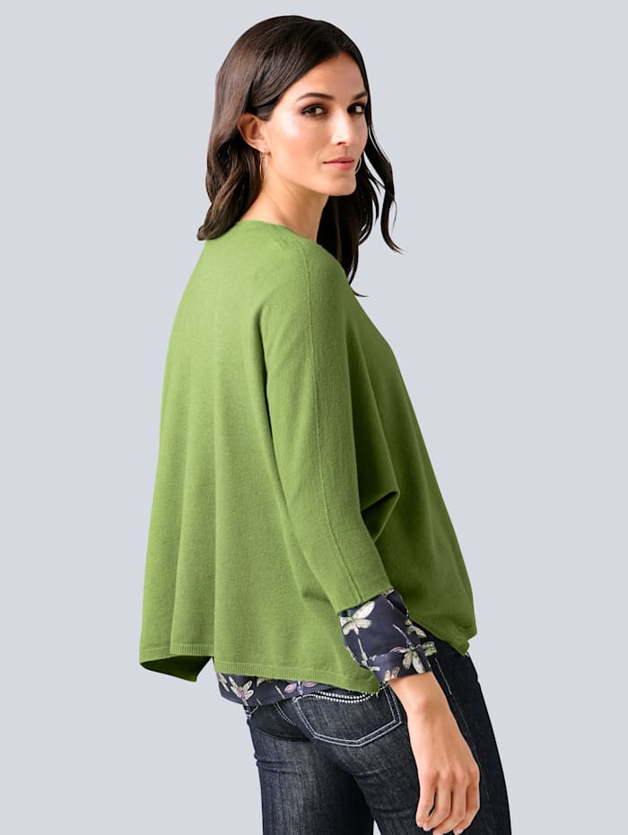 Pullover in lässiger Oversized-Form