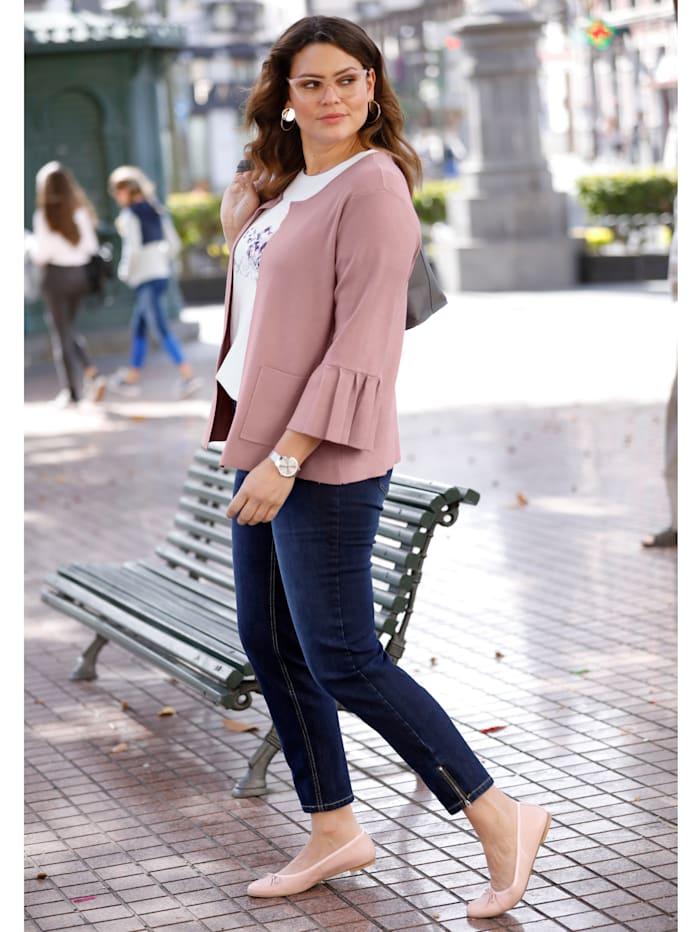 Slim Fit Jeans mit Ziernieten