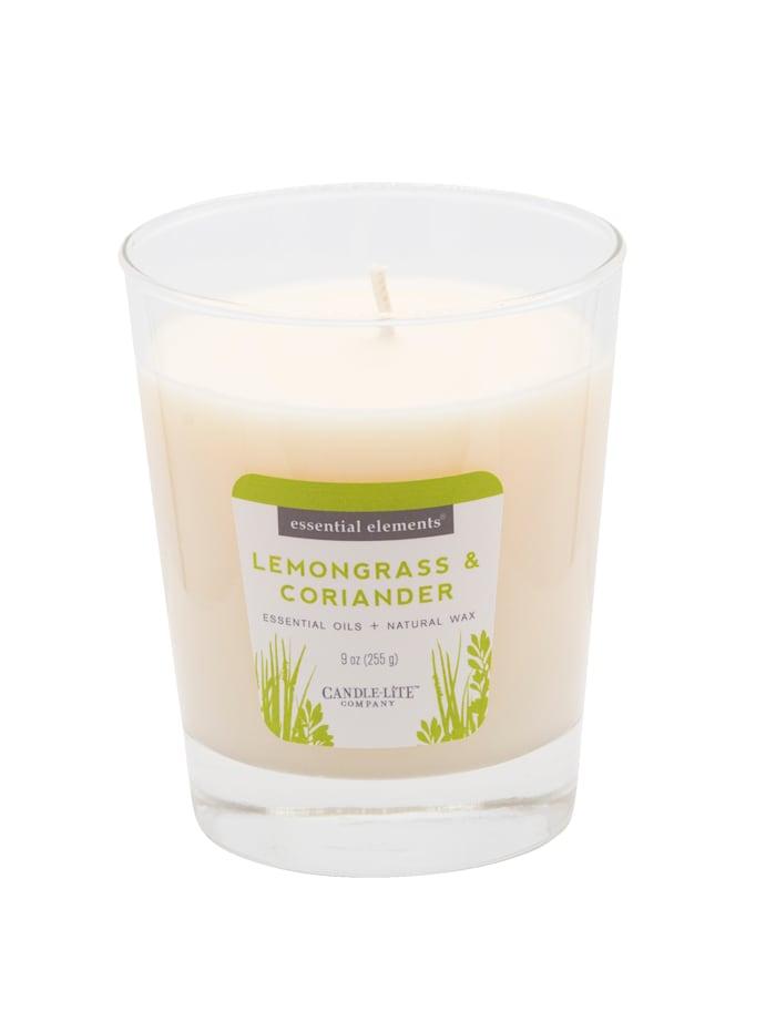 Candle-Lite Duftkerze Zitronengras, weiß
