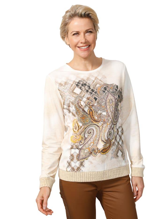 Sweatshirt met paisleydessin