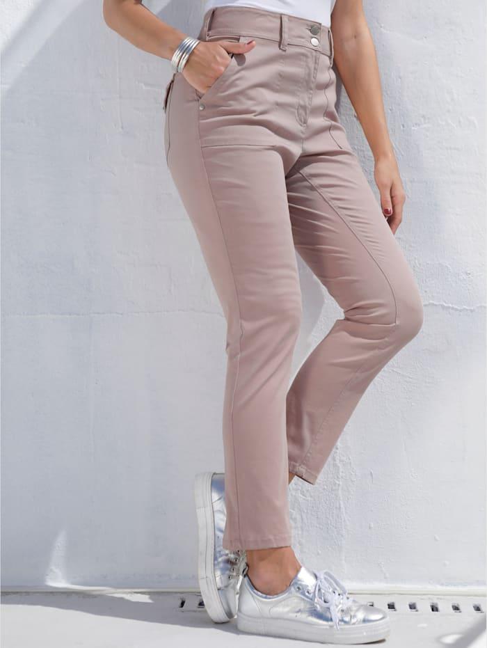 Pantalon à taille haute