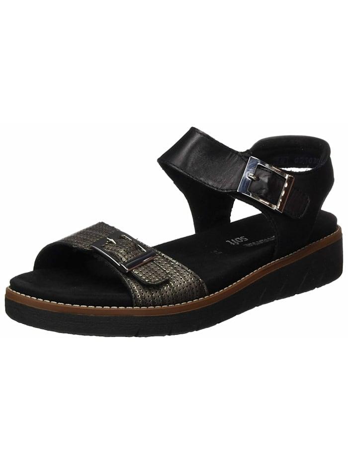Remonte Sandalen/Sandaletten, schwarz