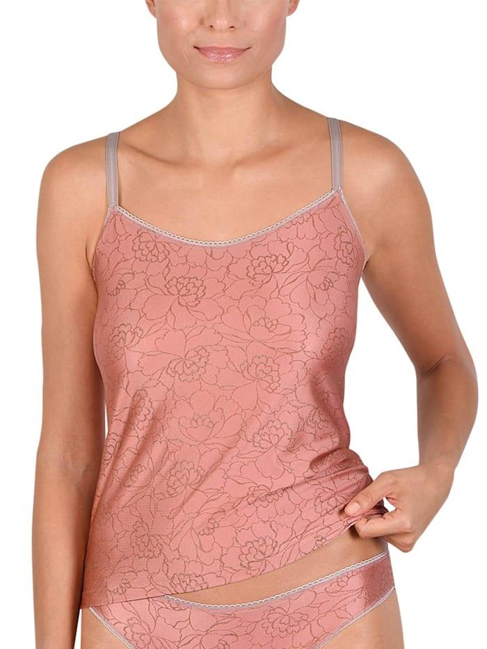 Naturana Damen Trägerhemd, dusty rose