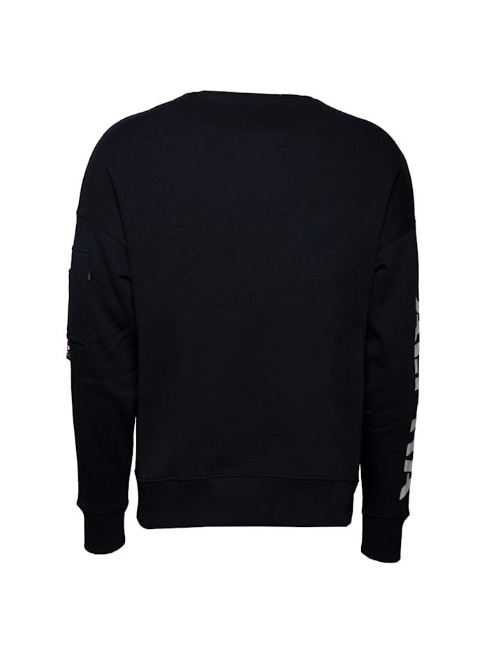 Sweatshirt Sleeve Print OS Sweater
