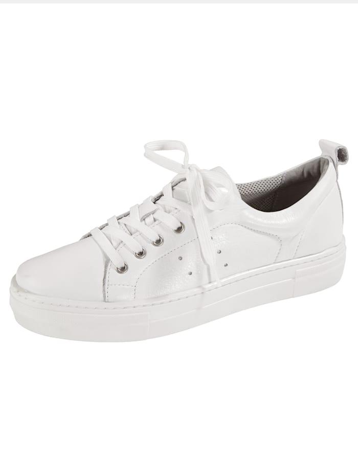 Liva Loop Sneakers i trendy modell, Hvit