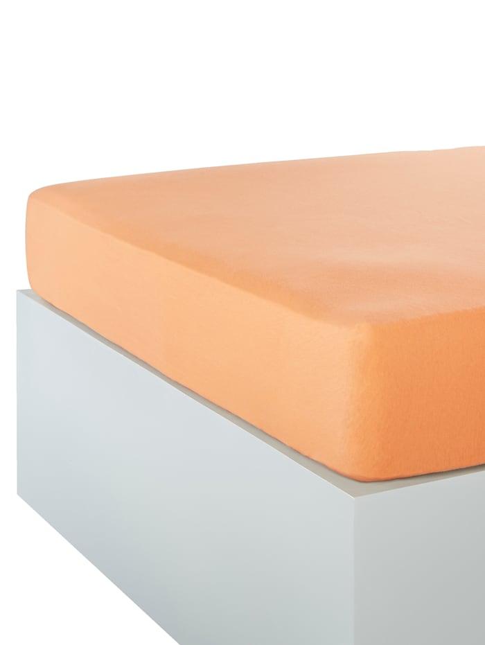 Webschatz Jersey Spannbettlaken im 2er-Pack, Terracotta