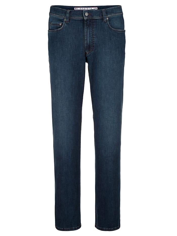 Babista Premium Jean à technologie ionique, Bleu