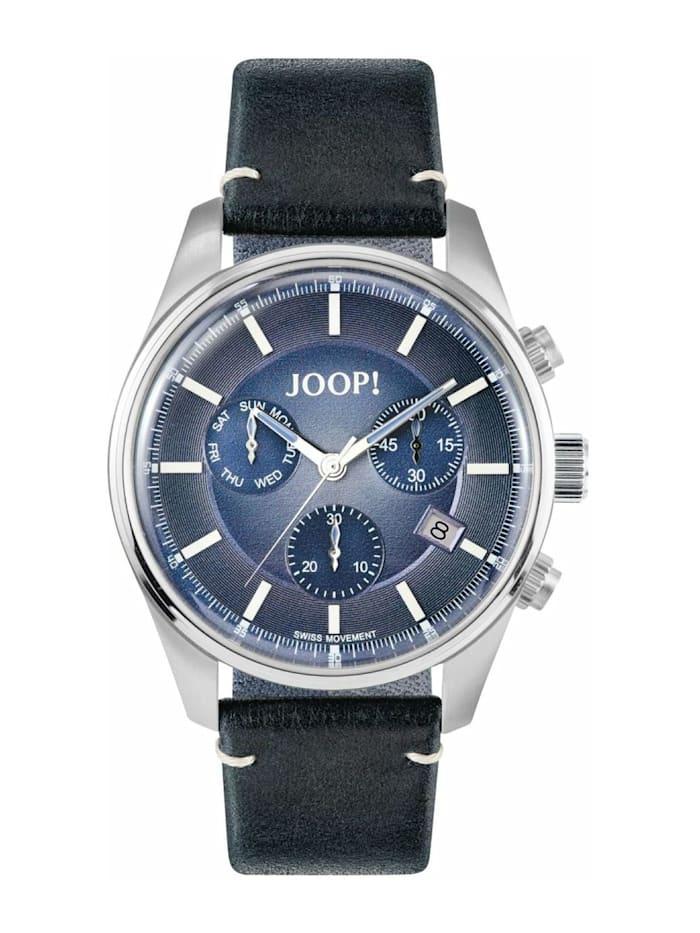 JOOP! Chronograph für Herren, Edelstahl, Blau