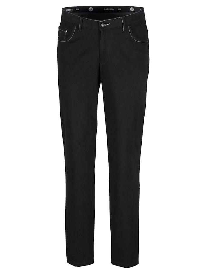 Pantalon coupe confort à taille descendue