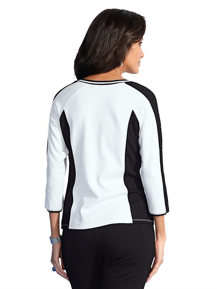 Shirtjacke mit 2-Wege-Reißverschluss