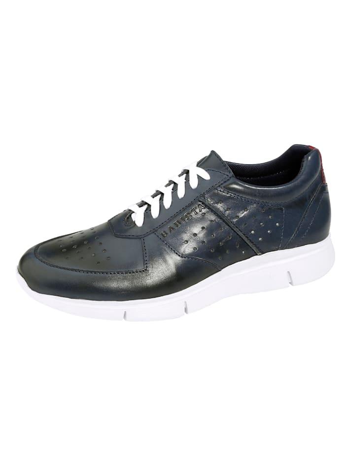 BABISTA Sneakers avec perforations respirantes, Marine