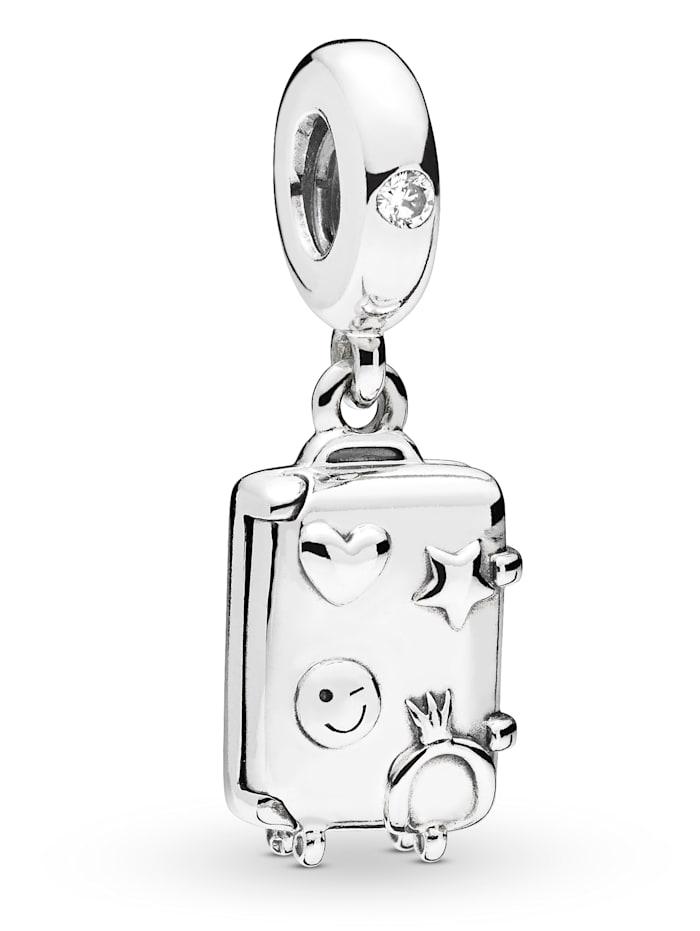 Pandora Charm-Anhänger -Koffer- 797887EN160, Silberfarben