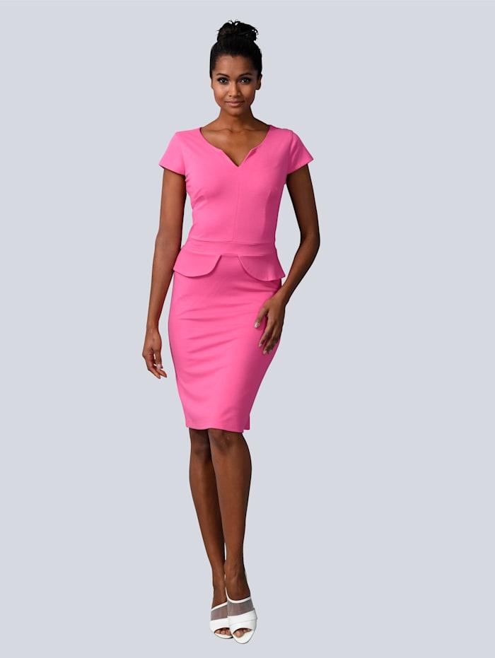 Alba Moda Jurk in aansluitend model, Pink