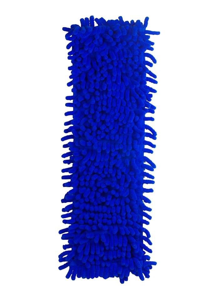 HSP Hanseshopping Antibakteerinen ja antiviraalinen vaihtomoppi Clever Clean ViralOff® -laattamoppiin, sininen