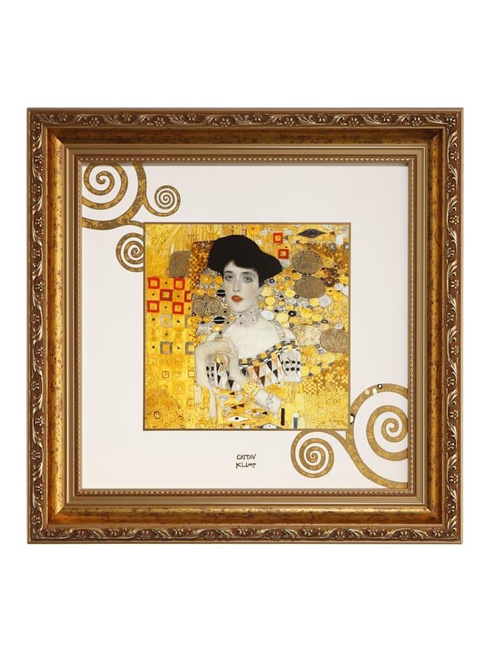 "Goebel Goebel Wandbild Gustav Klimt - ""Adele Bloch-Bauer"", Klimt - Adele"