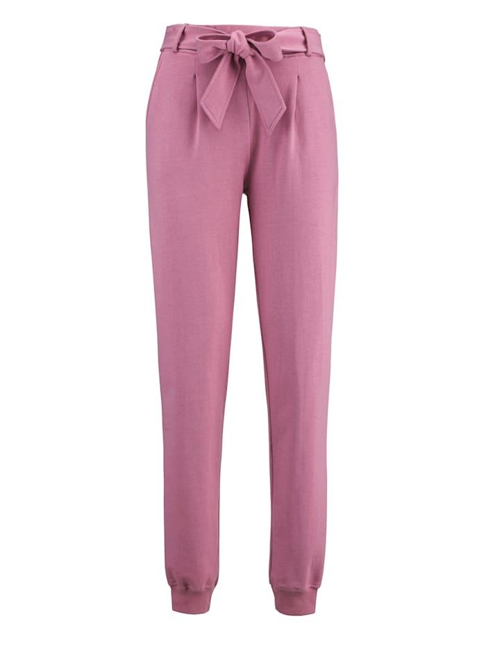 Pantalon de loisirs avec plis fantaisie