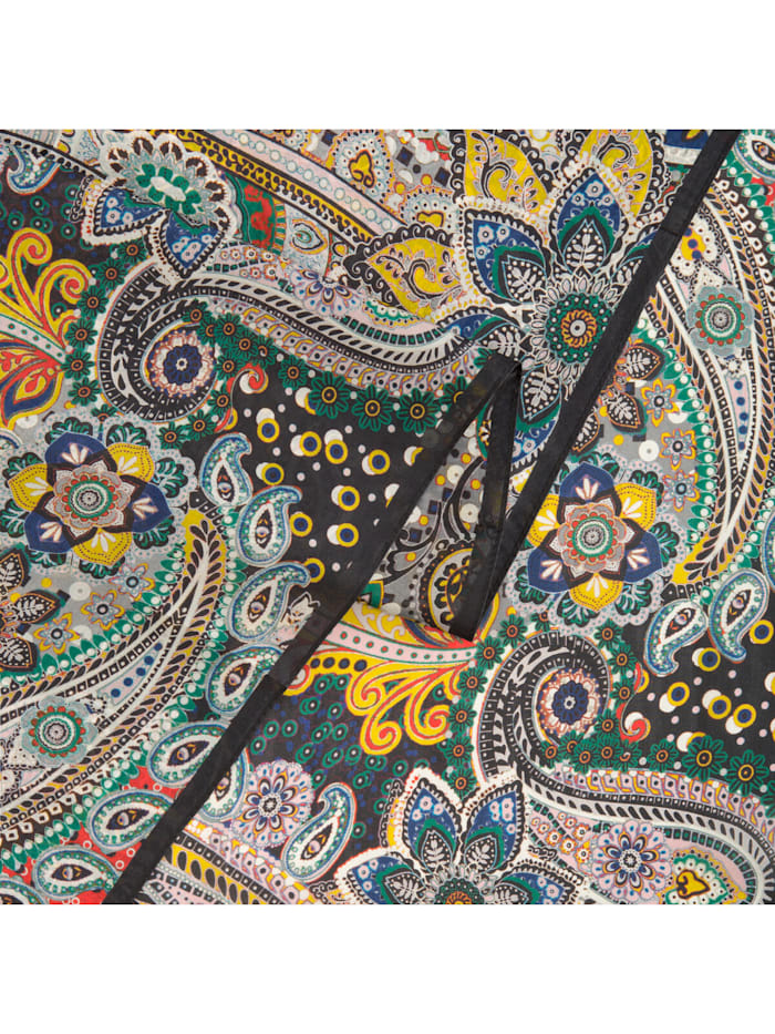 Seiden-Schal mit klassischen Paisley-Muster