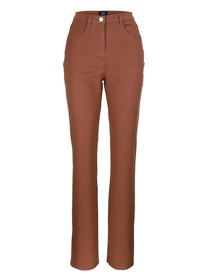 Paola Classic jeans in a premium design, Brown