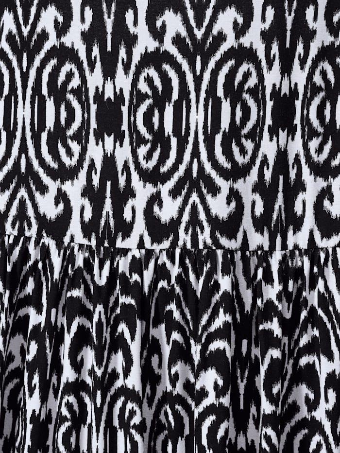 Jersey-Kleid mit Alloverdruck