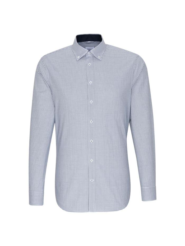 Seidensticker Business Hemd ' Shaped ', blau (0019)