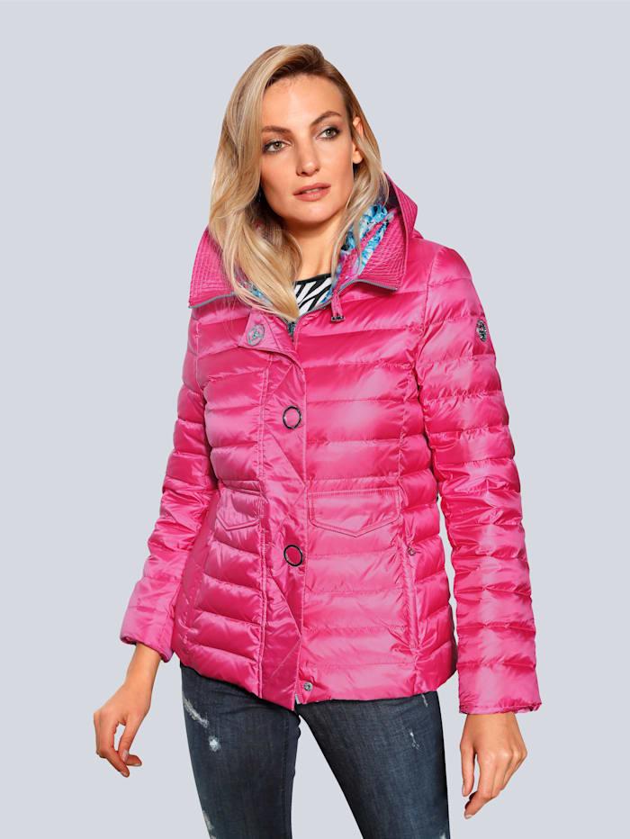 SPORTALM Jacke in glänzender Optik, Pink