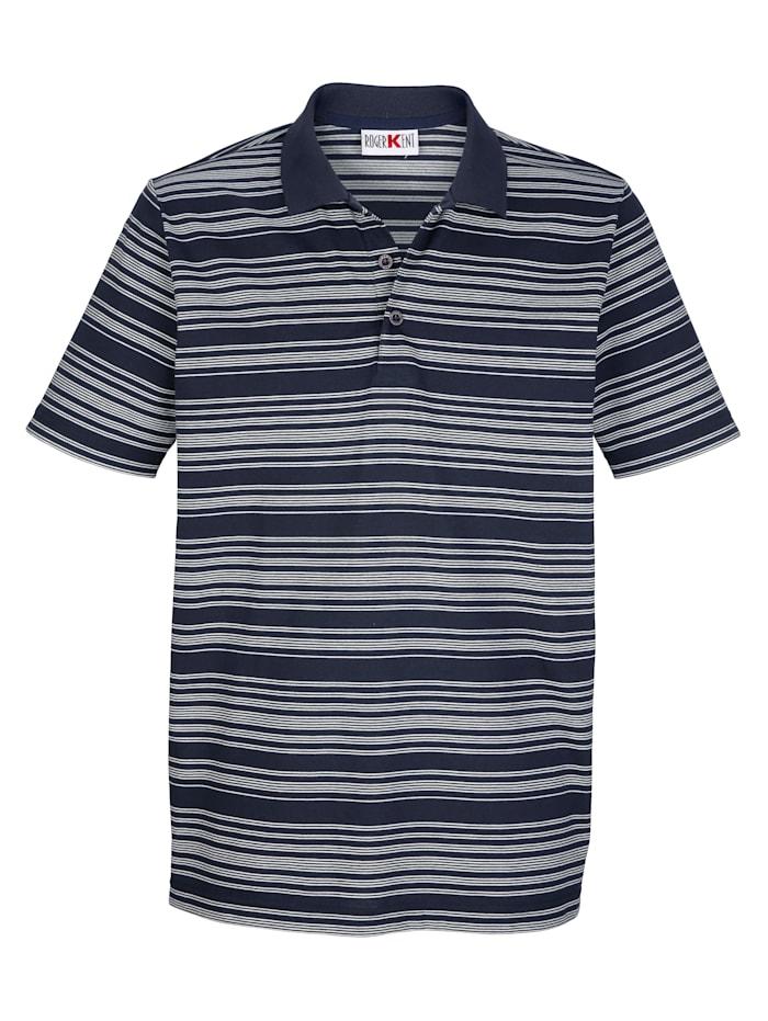 Poloshirt mit Seitenschlitzen