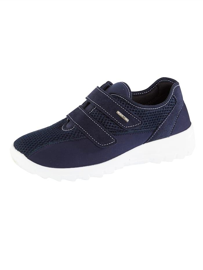 OrthoMed Klittenbandschoen geschikt bij hallux valgus, Donkerblauw