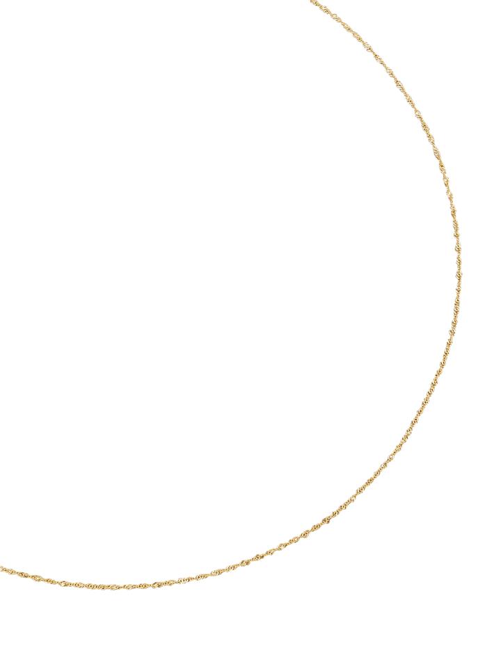 Chaîne maille Singapour, Coloris or jaune