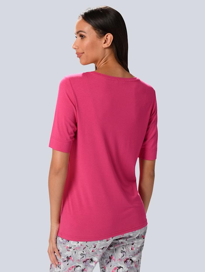 Shirt mit Chiffon-Volants