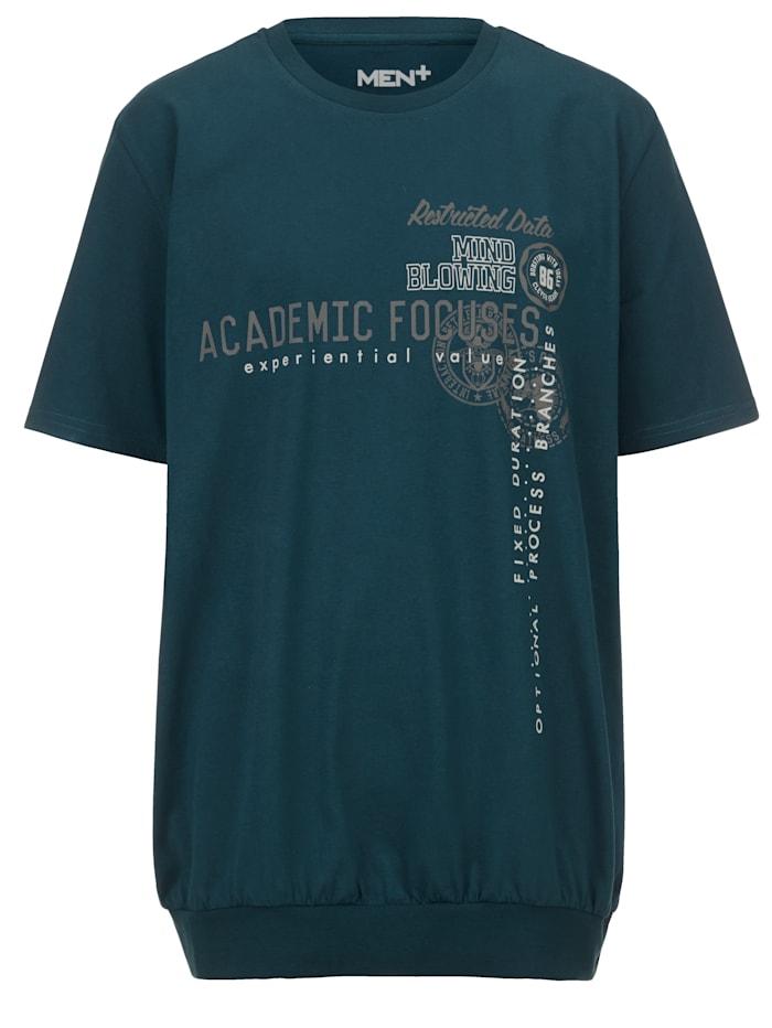 T-paita - vatsalle tilaa antava leikkaus