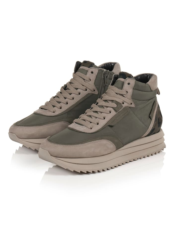 Kennel & Schmenger Hightop-Sneaker, Khaki
