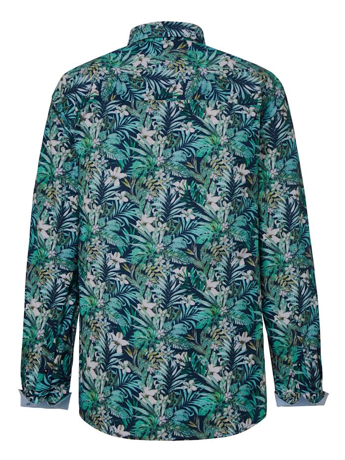 Overhemd met bloemenpatroon