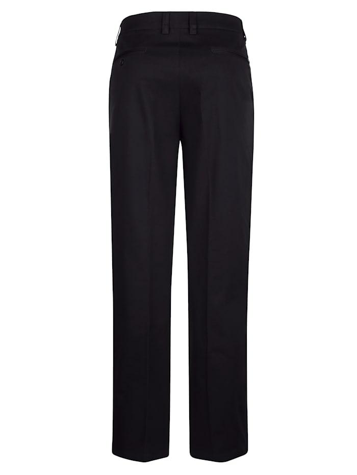 Pantalon sans pinces à poche sécurisée et dissimulée