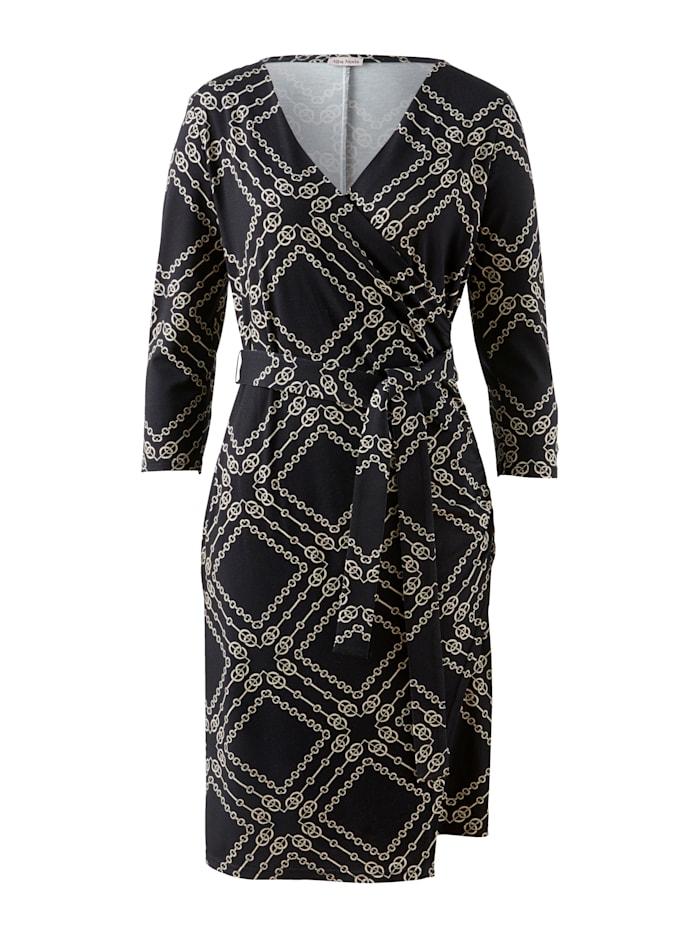Kleid mit Fake-Wickelausschnitt