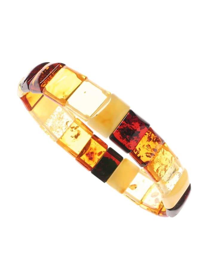 OSTSEE-SCHMUCK Armband - Lara - Bernstein - ,, mehrfarbig