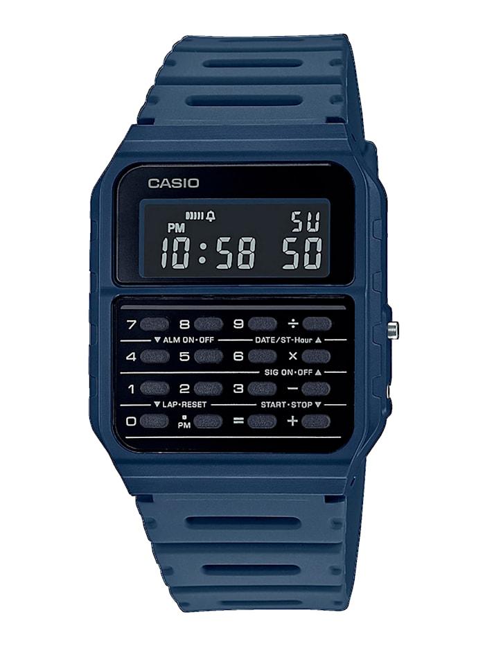 Casio Herren-Uhr Chronograph, Blau