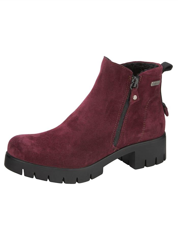 Naturläufer Boots med Tex-membran, Vinrød