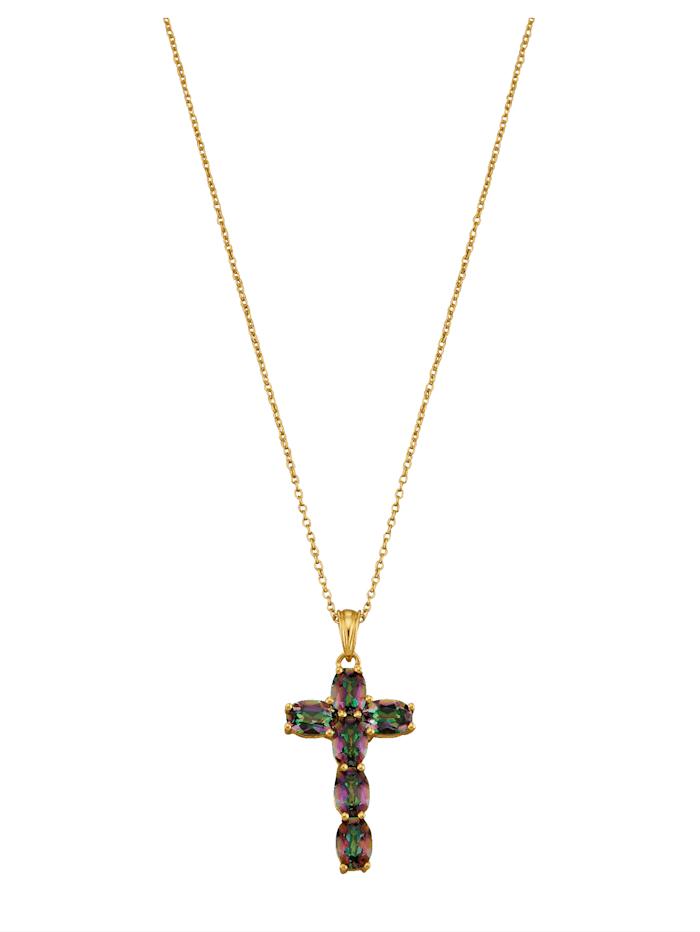 Halsband med kors, Flerfärgad