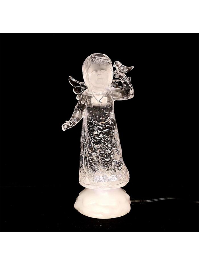 Sigro Weihnachtsfigur LED Engel, Weiß