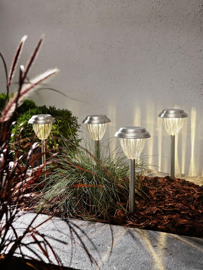 Set van 3 solarledlampen